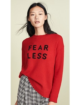 Fear Less Cashmere Sweater by 360 Sweater