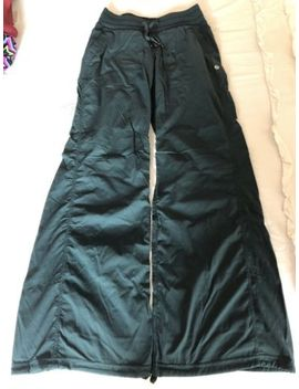 Lululemon Dance Studio Pant Ii Unlined Dark Fuel Green Size 4 by Lululemon
