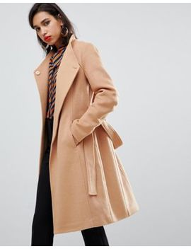 Y.A.S Belted Wrap Coat by Y.A.S.