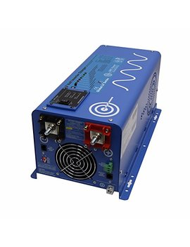 Aims Power 2000 Watt 12 Vdc Pure Sine Inverter Charger W/ 6000 W Surge by Aims