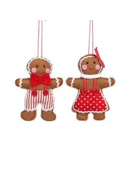 Assorted Felt Gingerbread Ornament By Ashland® by Ashland