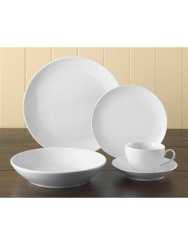 Pillivuyt Coupe Porcelain Dinner Plates, Set Of 4 by Williams   Sonoma