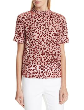 Gia Devoré Leopard Spot Blouse by Rag & Bone