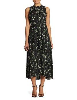 Waylon Tiered Silk Maxi Dress by A.L.C.