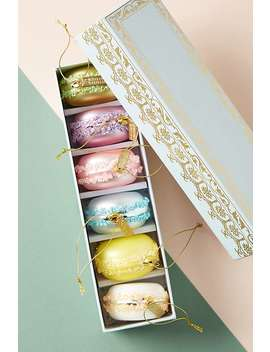 Macaron Ornaments, Set Of 6 by Anthropologie
