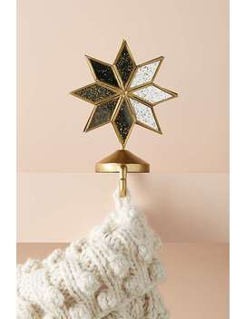 Shining Star Stocking Holder by Anthropologie