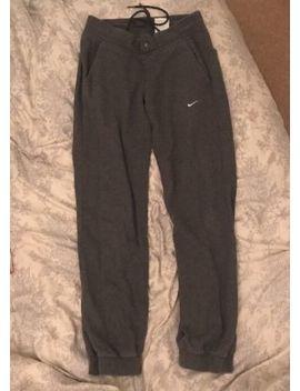 Womens Dark Grey Nike Tracksuit Bottoms, 10 by Ebay Seller