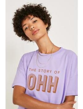 Gestuz Ohh Lilac T Shirt by Gestuz