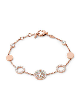 pearl-disk-station-bracelet by fossil