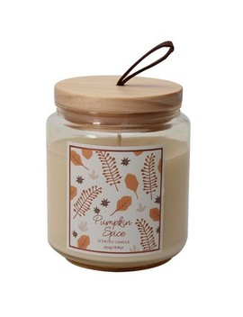 8.8oz Small Lidded Jar Candle Pumpkin Spice by Target