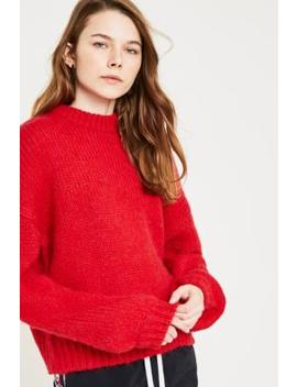 Uo Balloon Sleeve Jumper by Urban Outfitters