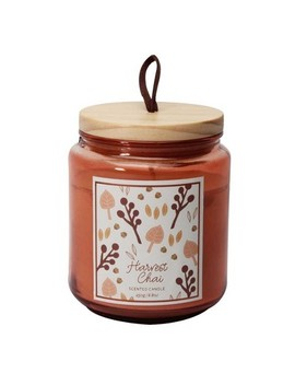 8.8oz Small Lidded Jar Candle Harvest Chai by Target