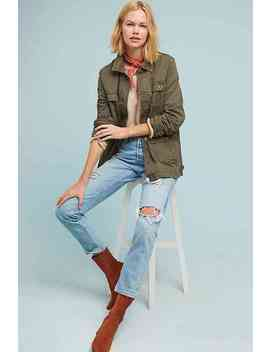 Knit Back Anorak by Anthropologie