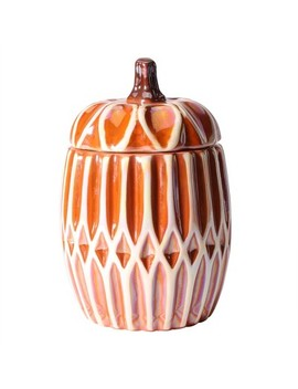 11.5oz Ceramic Pumpkin Candle With Lid Fresh Pumpkin by Target
