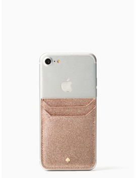 Glitter Triple Sticker Pocket by Kate Spade