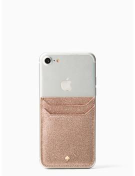 Glitter Triple Sticker Pocket by Kate Spade