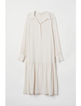 Kleid Aus Cupromix by H&M