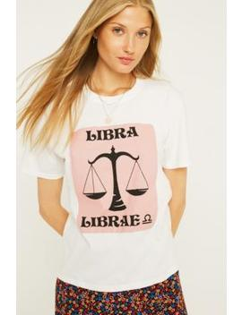 Uo Libra Horoscope T Shirt by Urban Outfitters