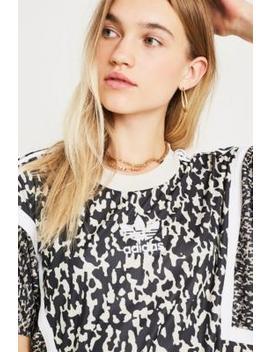 Adidas Originals Leopard Print Boyfriend T Shirt by Adidas Originals