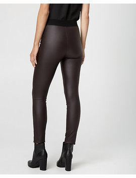 Wax Coated Tech Stretch Skinny Leg Pant by Le Chateau