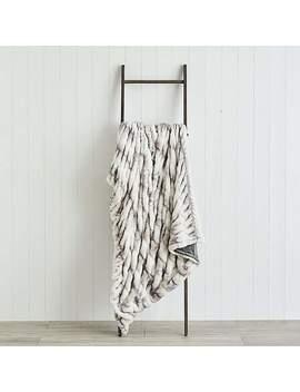 Mason Faux Fur 150cm X 200cm Throw by Dunelm