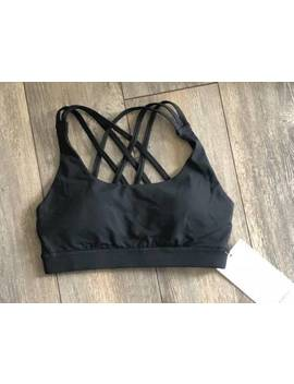 Lululemon Women's Energy Bra Special Edition Peek Black by Lululemon