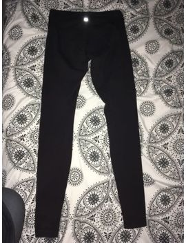 Lululemon Wunder Under 4 Black Full Length by Lululemon