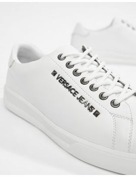 Versace Jeans – Weiße Sneaker by Versace Jeans