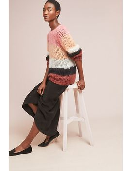 Trier Striped Sweater by Maiami