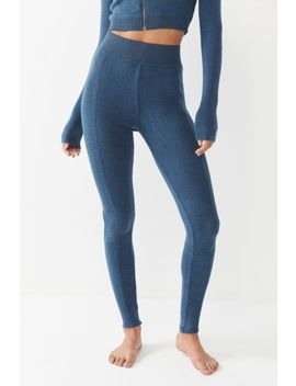 Out From Under Sydney Seamed High Rise Legging by Out From Under