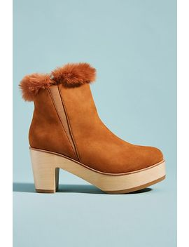 Ariana Bohling Parker Faux Fur Lined Booties by Ariana Bohling