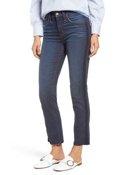 Halogen(R) Ribbon Stripe Slim Jeans (Renegade) (Regular & Petite) by Halogen