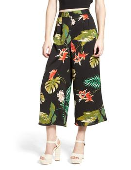 tropical-print-culottes by lydelle