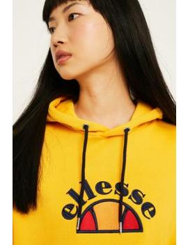 Ellesse Arc Yellow Hoodie by Ellesse