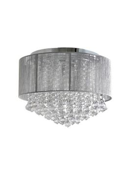 Home Collection   Gloria Flush Light by Home Collection