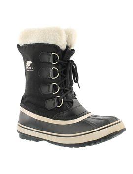Women's Winter Carnival Black Winter Boots by Sorel
