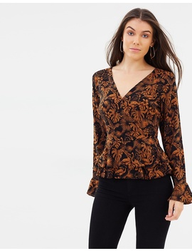 Iconic Exclusive   Margo Ruffle Top by Atmos&Here