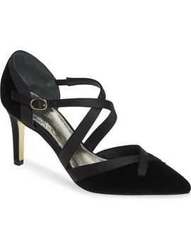 Hepburn Strappy Pump by Adrianna Papell