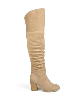 Stone Kaison Extra Wide Calf Boot   Women by Bella Cora