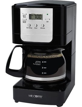 Advanced Brew 5 Cup Coffee Maker   Black/Chrome by Mr. Coffee