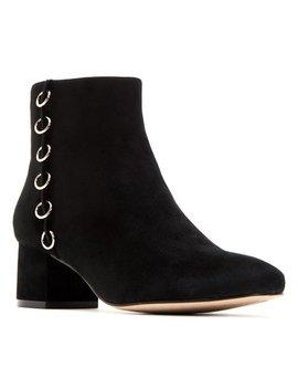 Black Louise Suede Bootie   Women by Katy Perry Footwear