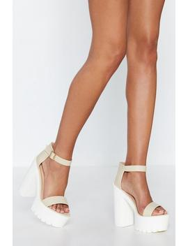 My Kind Of Woman Platform Heel by Nasty Gal