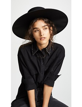 Large Boater Hat by Marc Jacobs