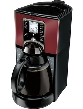 12 Cup Coffee Maker   Black/Red by Mr. Coffee