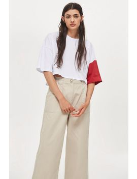 **Colour Block T Shirt By Native Youth by Topshop