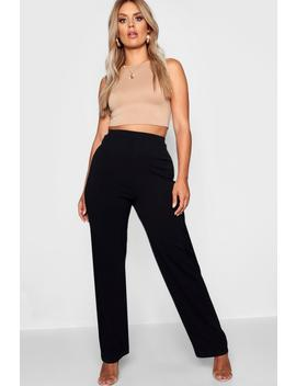 Plus Tailored Straight Leg Trouser by Boohoo