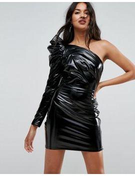 Asos   Robe Courte Sexy En Vinyle by Asos Collection