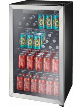 115 Can Beverage Cooler   Stainless Steel by Insignia™