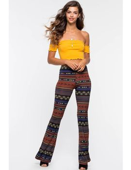 Freedom Boho Flare Leggings by A'gaci