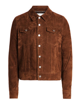 Suede Jacket by Saint Laurent